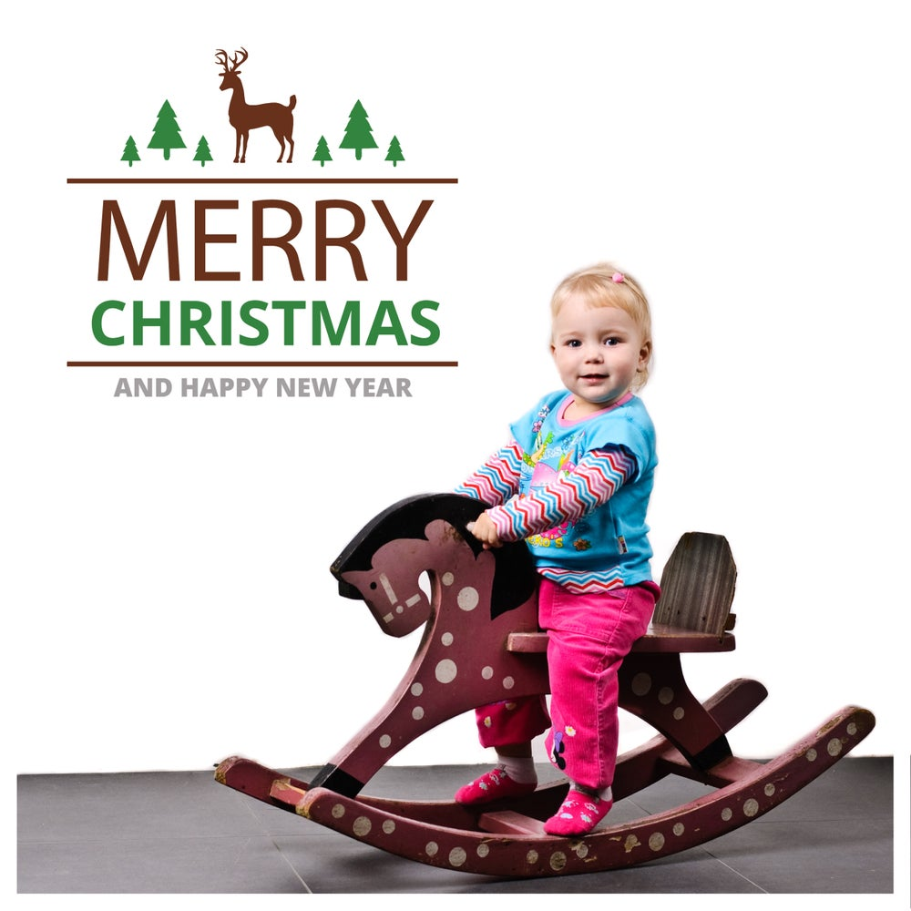 Image of Vinilo Navidad Merry Christmas 2
