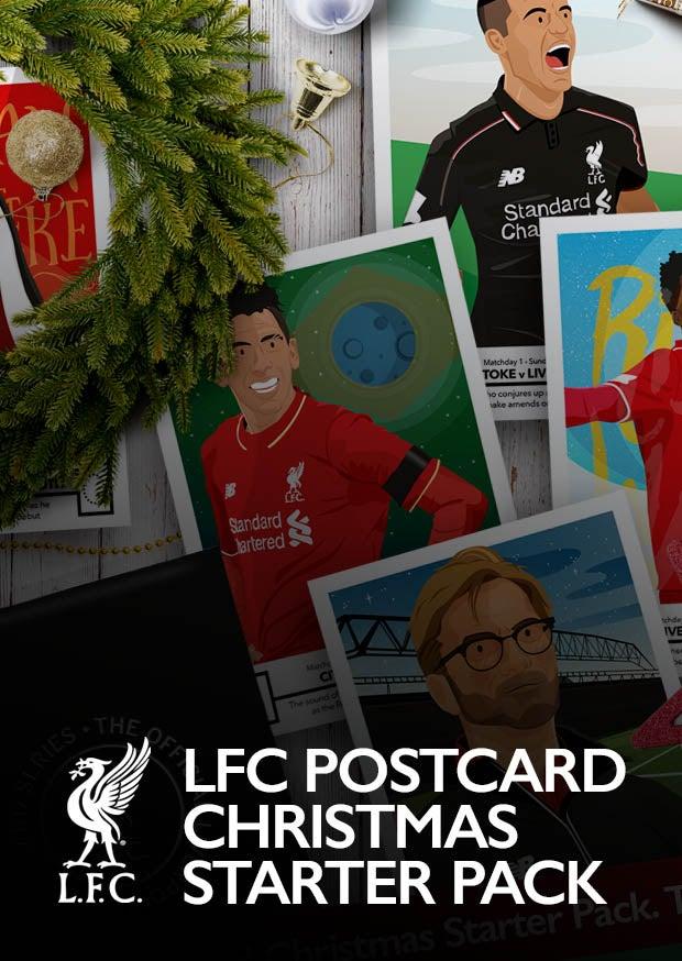 Image of LFC Postcard Christmas Starter Pack