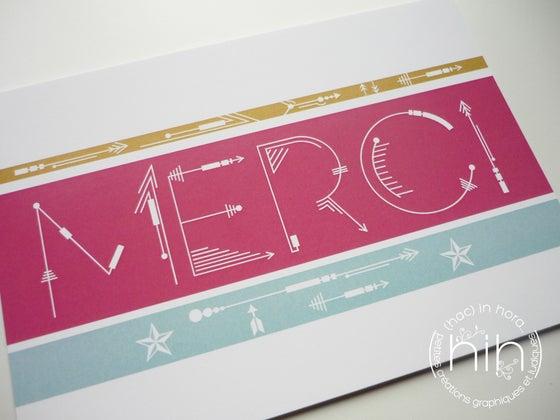 Image of cartes 'merci' ➵➳sagittas➳➵