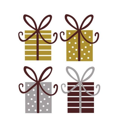 Image of Vinilo Navidad cajitas regalo