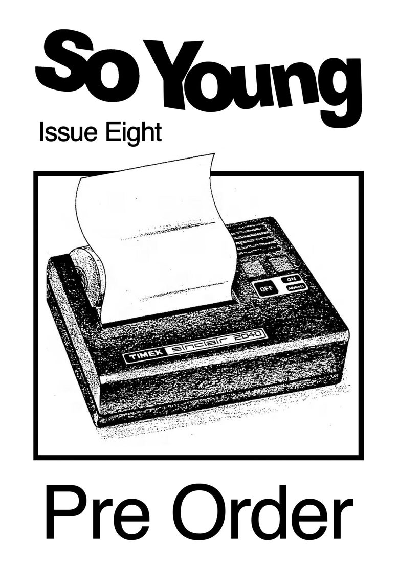 Image of So Young Issue Eight Pre Order