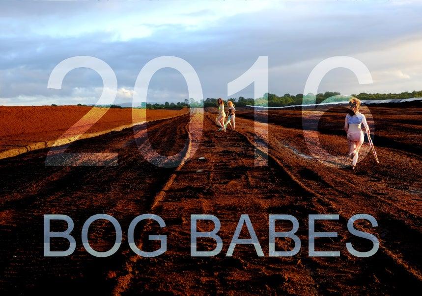 Image of Bog Babes 2016 calendar