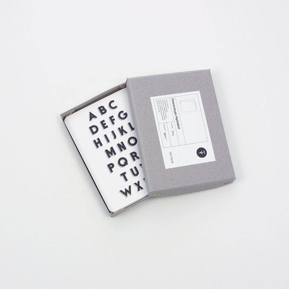 Image of CINEMATYPE ALPHABET BOX