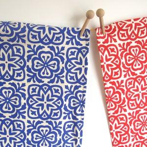 Image of Moroccan Tile Tea Towel