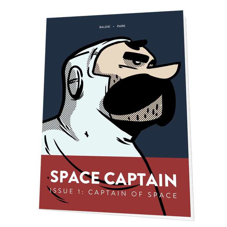 Image of Space Captain: Captain of Space #1