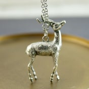 Image of Oh Deer - Silver Deer Necklace