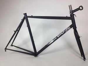 Image of W.H.Bradford CX frame XL size comes with WHBradford fork /Stem and Ritchey headset