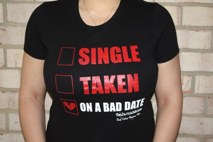 Image of On A Bad Date Crew Neck - Ladies