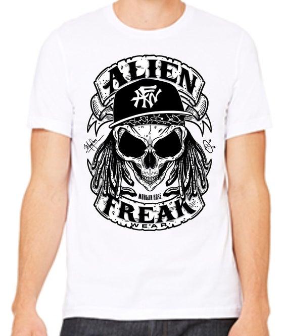 Image of AFW Freak 'Skull' White Men's Tee
