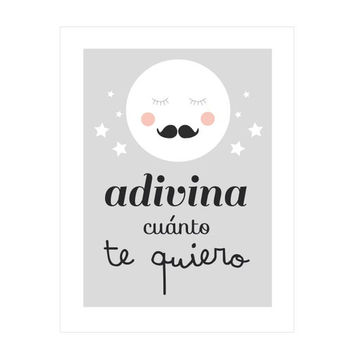 Image of Lamina Adivina cuánto te quiero