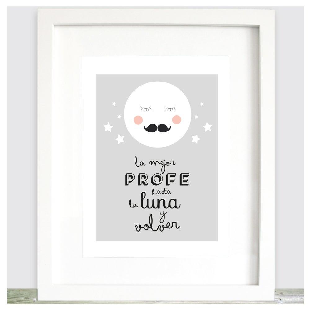 Image of Lámina la mejor profe