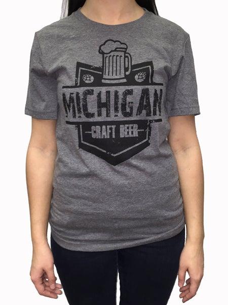 Image of Michigan Craftbeer Unisex Tee