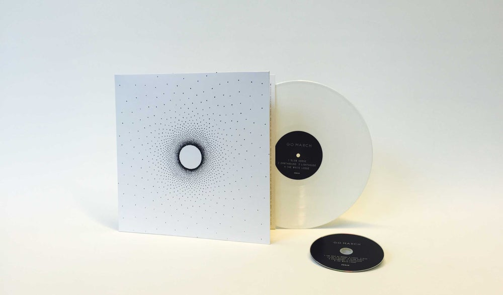 Image of Go March - Go March (ltd white vinyl + cd) UNDAY SHOP EXCLUSIVE