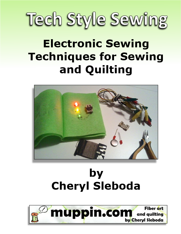 Image of PDF - Tech Style Sewing eTextile Book