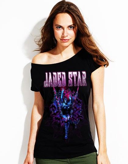 """Image of Jaded Star """"Queen Of Darkness"""" girlie"""