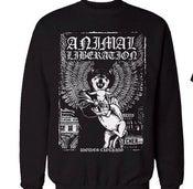 Image of Animal Liberation Crewneck Sweater