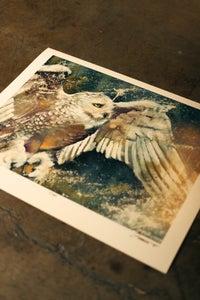"Image of ""Snowstorm"" (Print)"