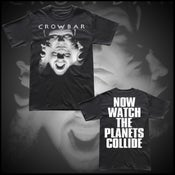"Image of CROWBAR ""PLANETS COLLIDE"" SHIRT"