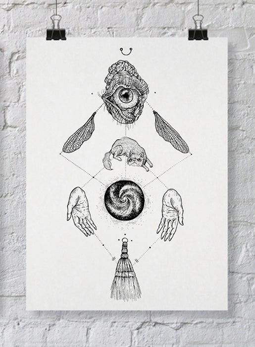 Image of Witch: To Purify // all seeing and all sweeping