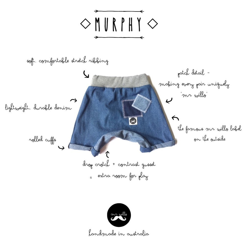 Image of ◇ M U R P H Y ◇ shorts