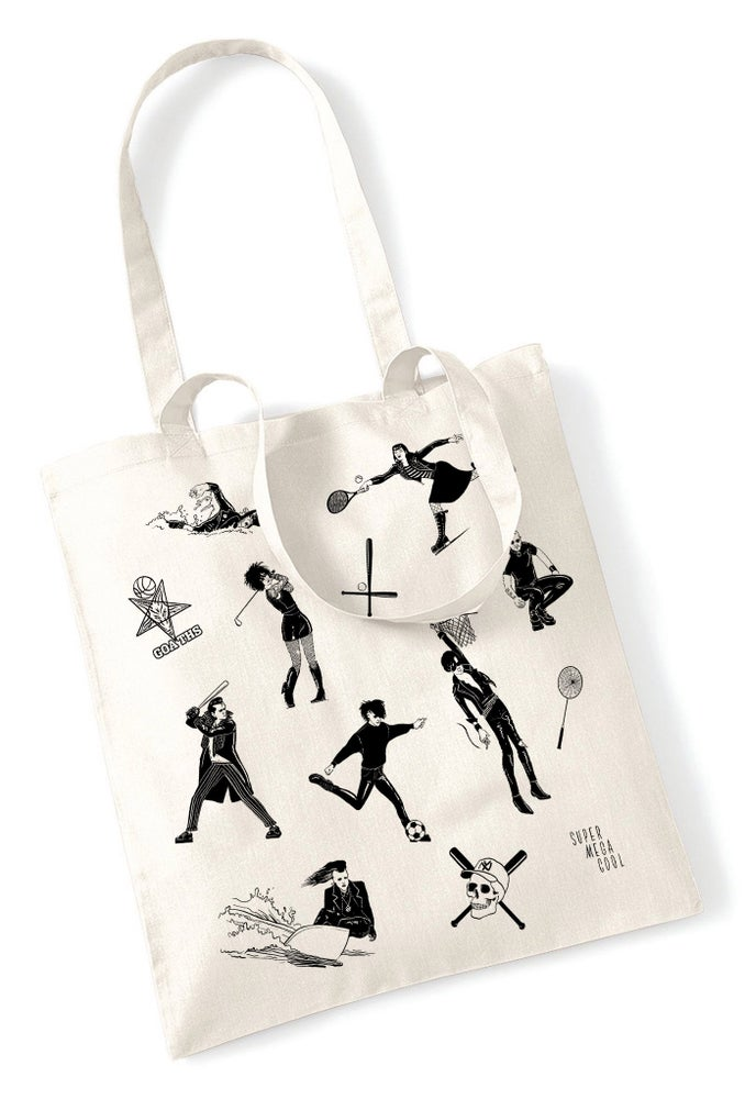 Image of Shopping bag - Le Goth Sportif