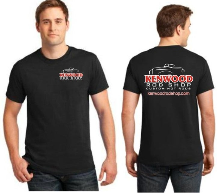 Image of Black Kenwood Rod Shop T-Shirt