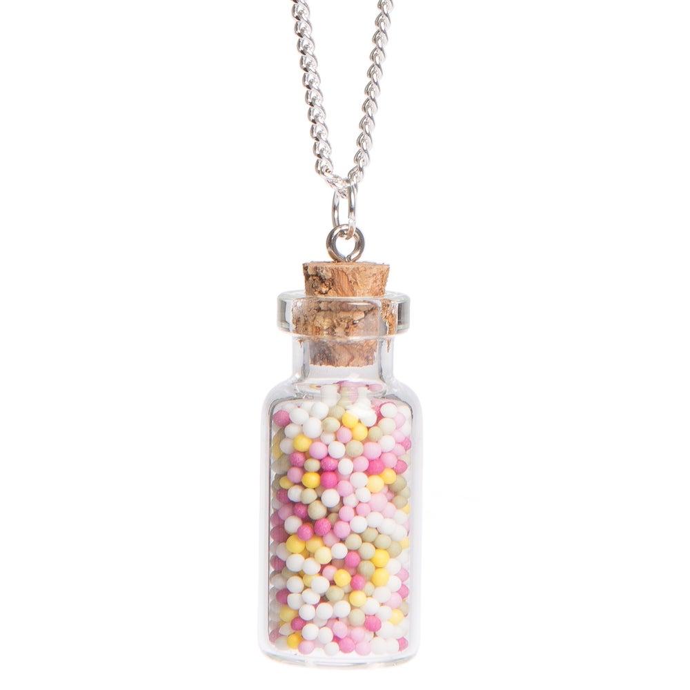 Image of Sprinkles Bottle Necklace