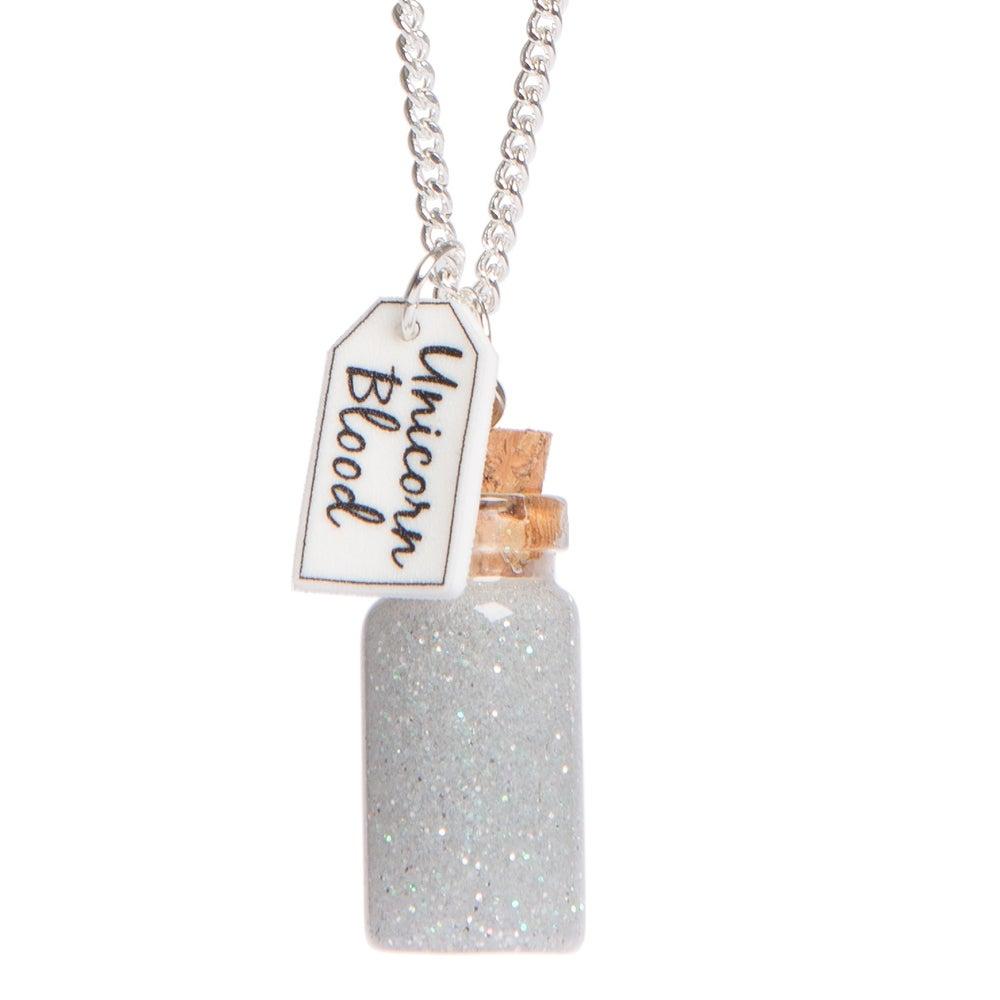 Image of Unicorn Blood Bottle Necklace