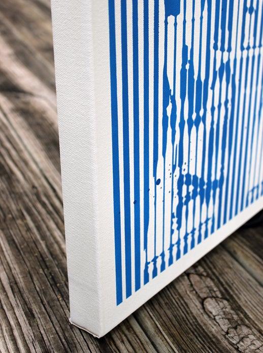 "Image of ""BARTOO"" Original Stencil on Canvas"