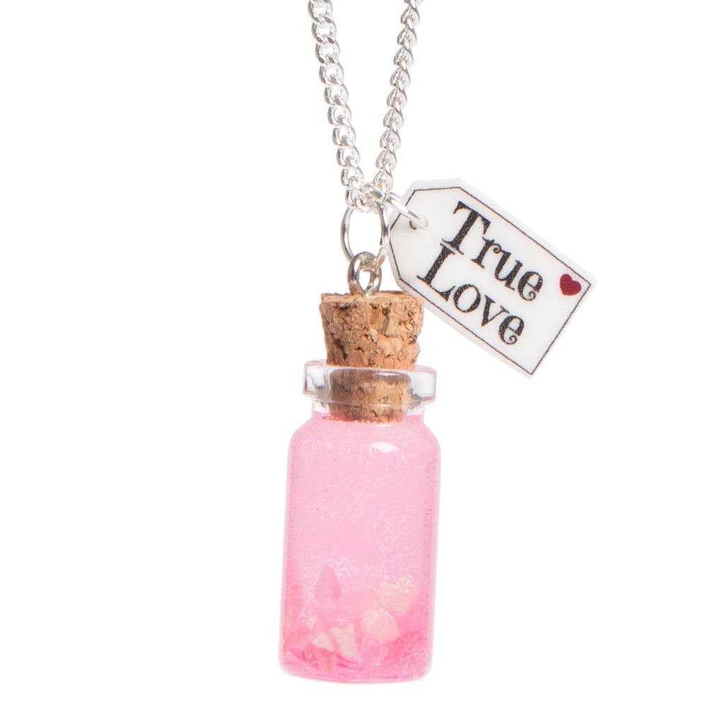 Image of True Love Bottle Necklace