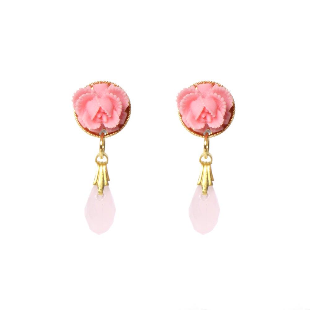 Image of Flower Drop Earrings
