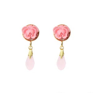 Image of Flower Drop Earrings