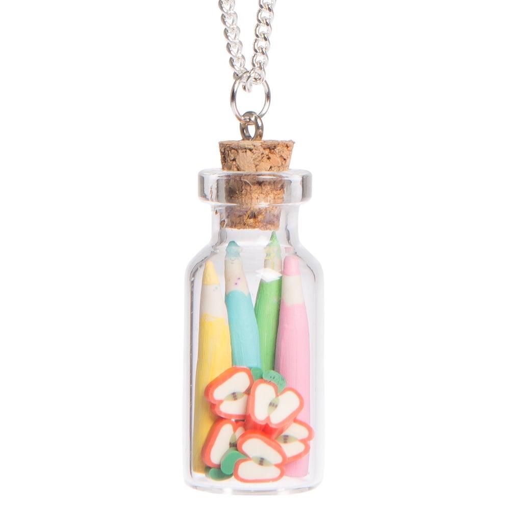 Image of Teachers Pet Bottle Necklace