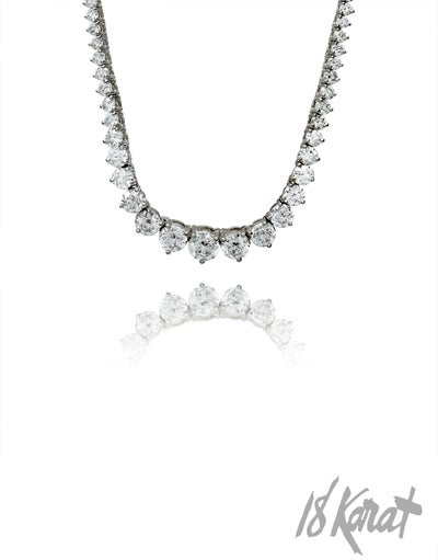 Sheila's Diamond Riviera Necklace - 18Karat Studio+Gallery