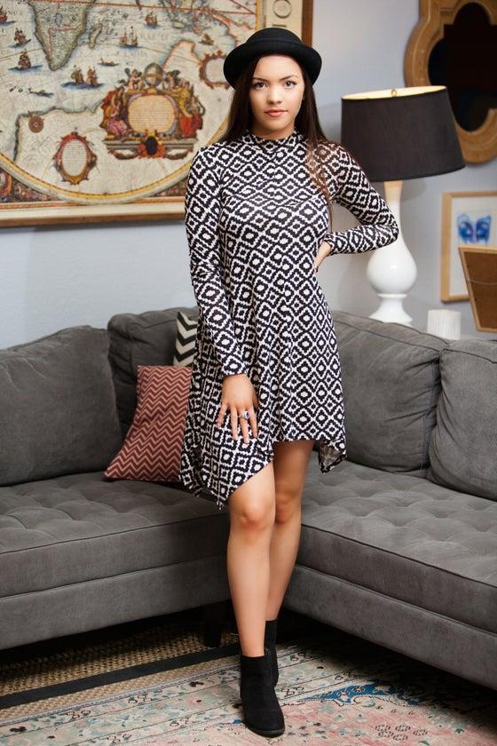 Image of Long Sleeve Tunic Dress