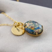 Image of Adira - Personalised Fire Opal Necklace