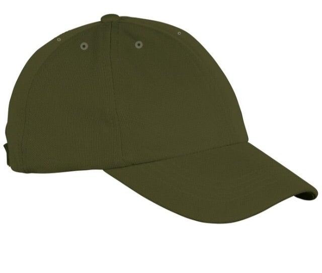 Image of KHAKI 6 PANEL CAP