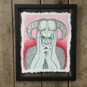 Image of Bullheaded Secret – Framed Original