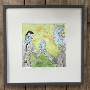 Image of There Are Two – Framed Original