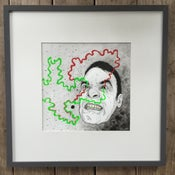 Image of Red/Green – Framed Original