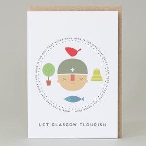 Image of 'Let Glasgow Flourish' Card