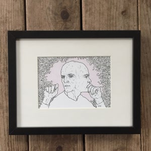 Image of On Second Thought – Framed Original