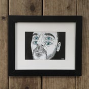 Image of Twin Stare – Framed Original