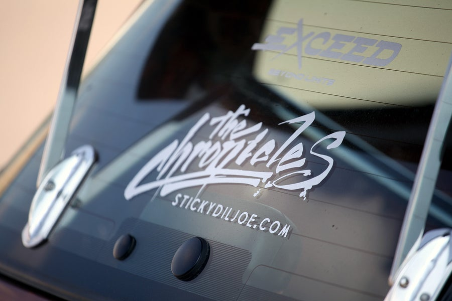 Image of The Chronicles Ver. VII Decal **NEW**
