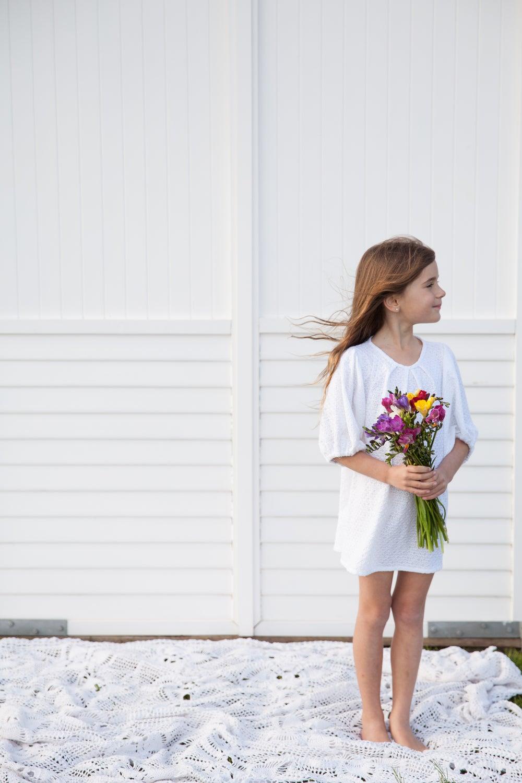 Image of Florence Dress - White
