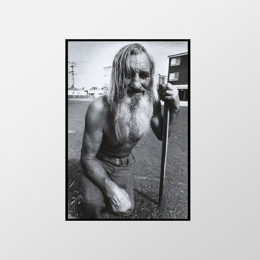 Image of Man in street, West St Kilda, 1974 – Limited edition of 100