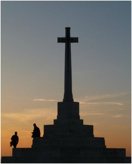 Image of YPRES 1/2 DAY TOUR NORTH SALIENT YPRES TO PASSCHENDAELE