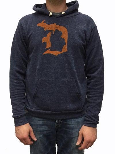 "Image of Original MI ""D"" Unisex Hooded Sweatshirt"
