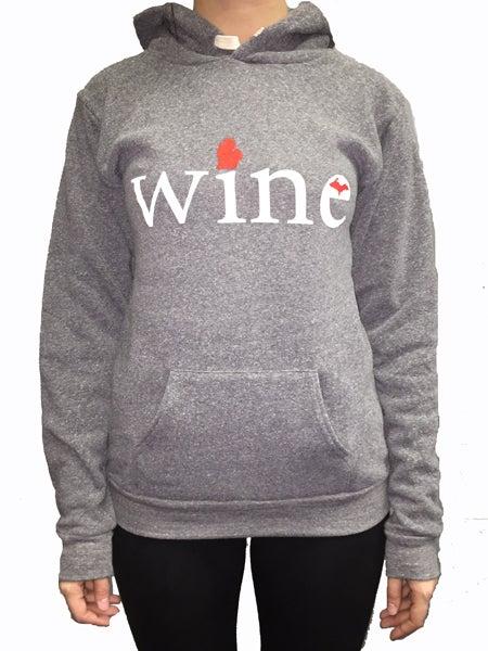 Image of MI Wine Unisex Hooded Sweatshirt