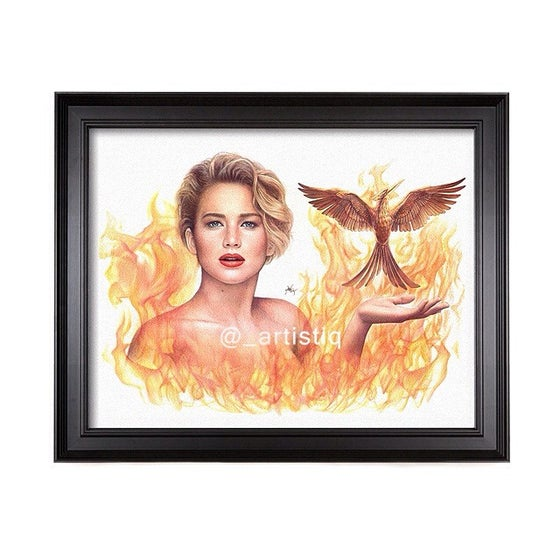 Image of The Girl On Fire